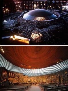 [BY 디아티스트매거진] 건축의 한계는 어디까지일까? 마치 SF영화에나 나올법한 기괴한 모습의 건축물이...