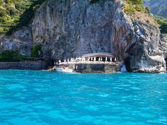 Escape of the Day: Da Adolfo, Positano. Take the boat over for an incredible day & good meal. @LeadingWineries of Napa. www.LwNapa.com