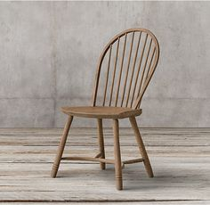 18th C. Bow Back Windsor Side Chair