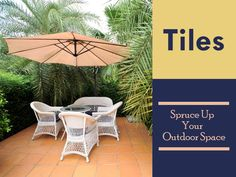 Whether you're creating a patio, hiding an old cement slab or giving your garden a make-over, tiling can transform your outdoor living space into an extension of your home and an area for enjoying with family and friends Outdoor Living, Outdoor Decor, Tiling, Cement, Living Spaces, Articles, Patio, Friends, Garden