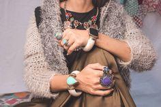 Cuff bracelet- Bone cuff Bracelet.Black Onyx bracelet- Gypsy Tribal Boho Jewelry.Ethnic Stone Bracelet.Bone Cuff Gypsy Rings, Blue Rings, Stone Bracelet, Bohemian Jewelry, Boho Outfits, Black Onyx, Hippie Boho, Bangle Bracelets, Bones