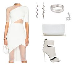 """""""Untitled #1185"""" by foradream ❤ liked on Polyvore featuring David Koma, Giuseppe Zanotti, GUESS, Rebecca Lankford Designs, Toast and Ryan Storer"""