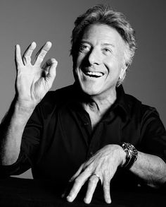 Dustin Hoffman ... i didn't know where else to put this, but he is just great. i mean look at that face, doesn't it just make you want to smile?