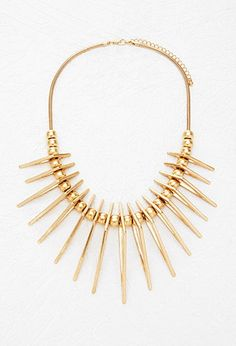 Triangle Statement Necklace | Forever 21 - 1000171933