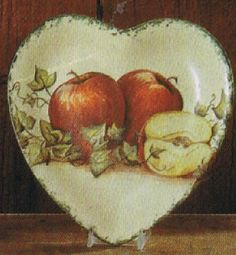Apple Heart Plate