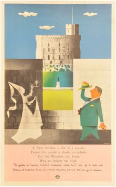John Bainbridge London Transport poster windsor