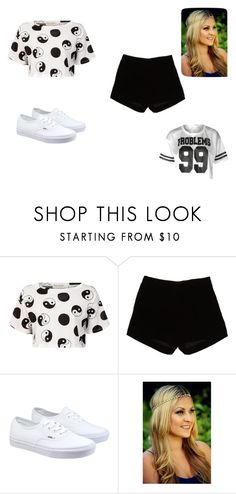 """me"" by kaniyaharris112 ❤ liked on Polyvore featuring Être Cécile, Andrew Gn, Vans, women's clothing, women, female, woman, misses and juniors"