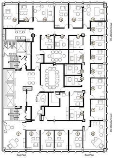 executive office suite floor plan - Google Search