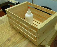 Paint Stick Crate: 6 Steps (with Pictures)