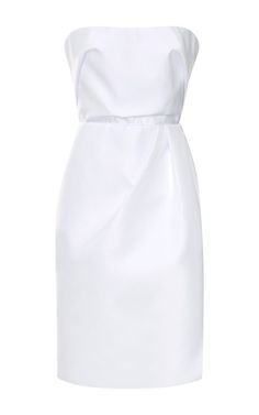 Shop Heavy Faille Dress by Carven Now Available on Moda Operandi