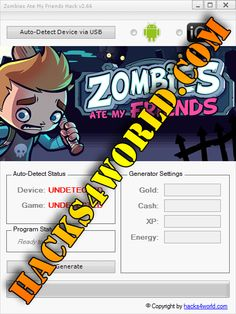 Zombies Ate My Friends Hack working with iOS and Android download only from: http://hacks4world.com/zombies-ate-my-friends-hack-android-ios/  Zombies Ate My Friends Hack Features: Gold generator Cash generator XP generator Energy generator  Zombies Ate My Friends Hack working with iOS and Android download only from: http://hacks4world.com/zombies-ate-my-friends-hack-android-ios/