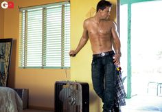 Obviously I really like Channing Tatum's GQ shoot since I'm pinning basically all the pictures..