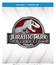 Amazon Deal: Score Blu-Ray Jurassic Park 4 Movie Collection For $19.99 Score the ultimate Blu-Ray Jurassic Park 4 movie collection set for only $19.99 at A