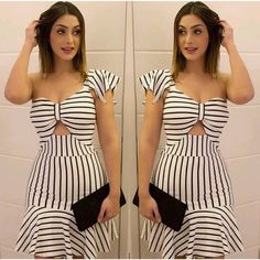 Pin by Daniela Cobos on conj in 2019 Casual Summer Outfits, Simple Outfits, Simple Dresses, Trendy Outfits, Casual Dresses, Fashion Outfits, Womens Fashion, African Print Dresses, African Fashion Dresses