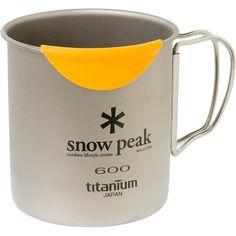 Amazon.com: Snow Peak Hotlips Titanium Mug: Sports & Outdoors