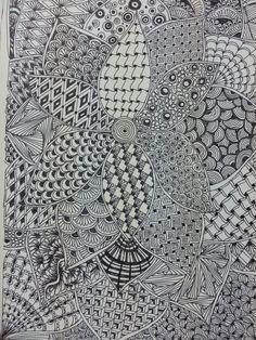 Zentangle bloom
