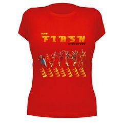 Camiseta The Flash evolution #comic #camiseta