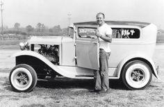 Vintage Hot Rod Coupe