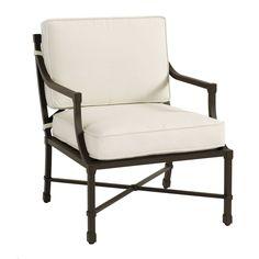 Suzanne Kasler Directoire Lounge Chair
