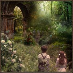 truly an entrance to a secret garden or a lost world
