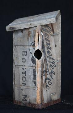 hand made bird house