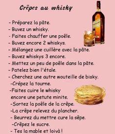 Crêpes au whisky =))