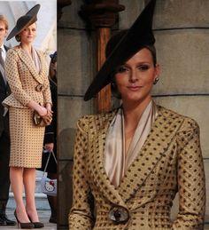 Королевская свадьба в Монако: Charlene Wittstock дает Giorgio Armani нервы