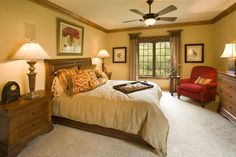 The Wynfield Model, Master Bedroom - visit www.carstensenhomes.com for more information.