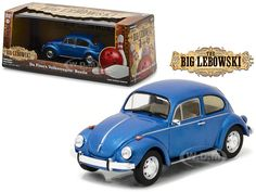 """Up to 45% Off + FREE Shipping. View Available Deals and Coupons for Da Finos Volkswagen Beetle Blue """"The Big Lebowski"""" Movie 1998 1/43 Diecast Model Car by Greenlight."""