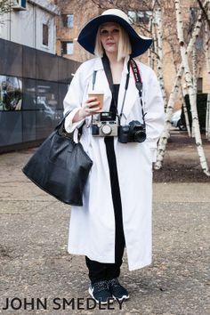 via LDN Fashion @ LFW aw14 #Street Style
