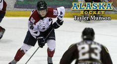 Hometown Product Taylor Munson of the Fairbanks Ice Dogs in the NAHL to Play Hockey for Alaska Nanooks