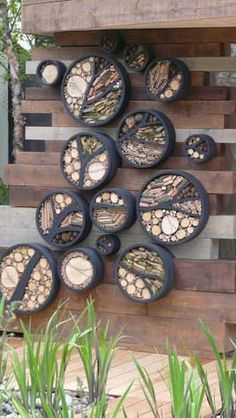 How to build a Bug Hotel :: Garden activities for curious kids – Toby and Roo Beneficial Insect Habitat: If this could be done with old tires, it would be amazing.
