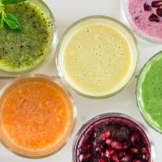Detox, Zellschutz, Anti-Aging: Diese Smoothies können mehr. Wir haben den Mixer angeworfen und acht Rezepte kreiert - erfrischend, gesund und lecker.