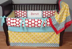 Lawson's bedding!! :) Love everything about this-Big Top Bedding!
