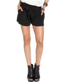 BCX Shorts, Belted - Juniors Shorts - Macy's