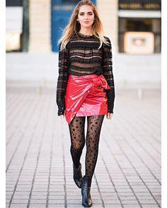 I see stars for Isabel Marant show  @calzedonia #ItalianLegwear #collant #TheBlondeSaladGoesToParis