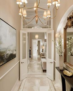 """Laura Hammett: """"The entrance hall at one of our Belgravia townhouse projects from a couple of years ago✨ . Interior Trim, Luxury Interior, Interior Architecture, Interior Design, Interior Ideas, Townhouse Interior, London Townhouse, Hallway Decorating, Decorating Ideas"""