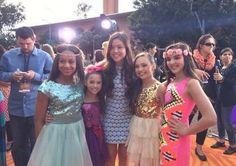 Maddie Ziegler, Nia Frazier, Kendall Vertes and Mackenzie Ziegler #Maddie #Ziegler #MaddieZiegler #DanceMoms #KidsChoiceAwards #2014