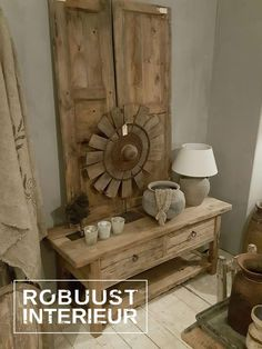 tafel#wastafel#badmeubel#badkamer#oud#hout#eiken#robuust#stoer ...