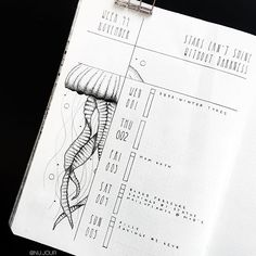 41 amazing bullet journal weekly spread ideas you'll lose your mind ov Bullet Journal Disney, Bullet Journal Harry Potter, Bullet Journal August, Bullet Journal Spread, Bullet Journal Ideas Pages, Bullet Journal Layout, Bullet Journal Inspiration, Journal Pages, Jellyfish Drawing