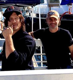 Norman and Andrew ‪#‎sdcc2015‬