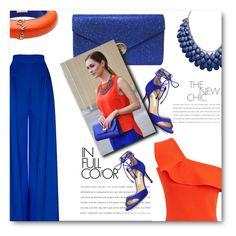 """""""Full Color"""" by tinayar ❤ liked on Polyvore featuring Roland Mouret, Diane Von Furstenberg and Dsquared2"""