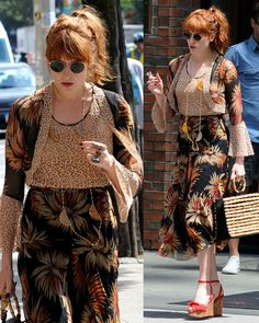 """Florence Welch Turns Heads in Charlotte Olympia """"Miranda"""" Wedges"""