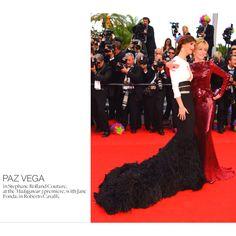 Paz vega, Cannes . Via style.com