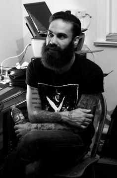 thedailybeard:  meowskiez420:  Can we just take a moment to appreciate Jason Butler's beard  yes we can.