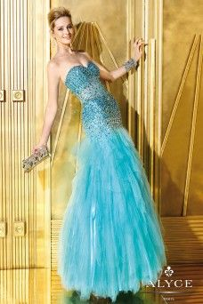 Alyce Prom Dress Style #6250 Full View