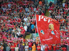 Liverpool fans reminisce as Pepe Reina departs for Bayern Munich #LFC --sniff sniff, good bye Pepe <wipes a tear>
