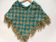 ponchos en telar cuadrado - Buscar con Google Lana, Crochet Top, Weaving, Knitting, Clothes, Women, Google, Basket, Inspiration