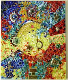 Mayan Dreams an Original Mosaic by mosaicing on Etsy, $950.00