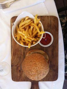 Burger & Fries, El Chiringuito, Es Cavallet, Ibiza, Summer 2011